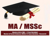 MA / MSSC Social Sciences